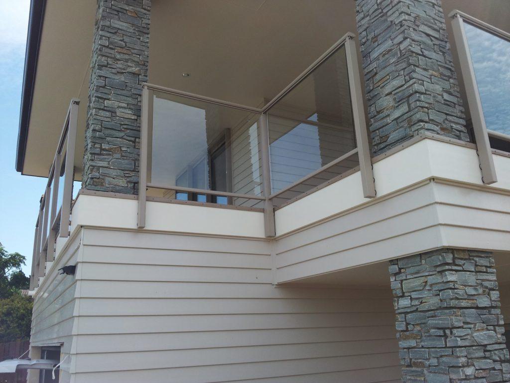 Edge Framed Glass Balustrade
