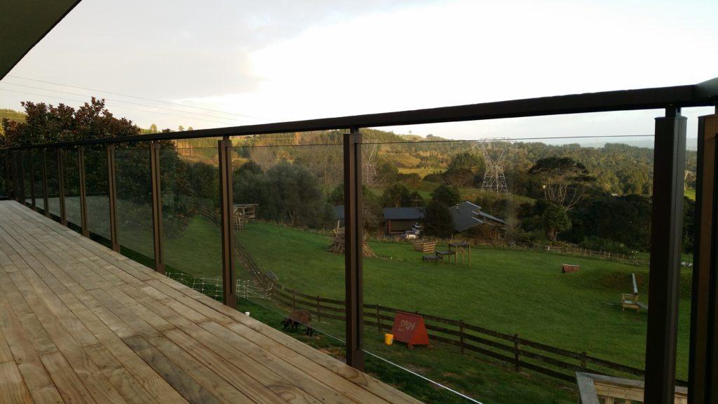 Edge Semi Frameless Glass Balustrade