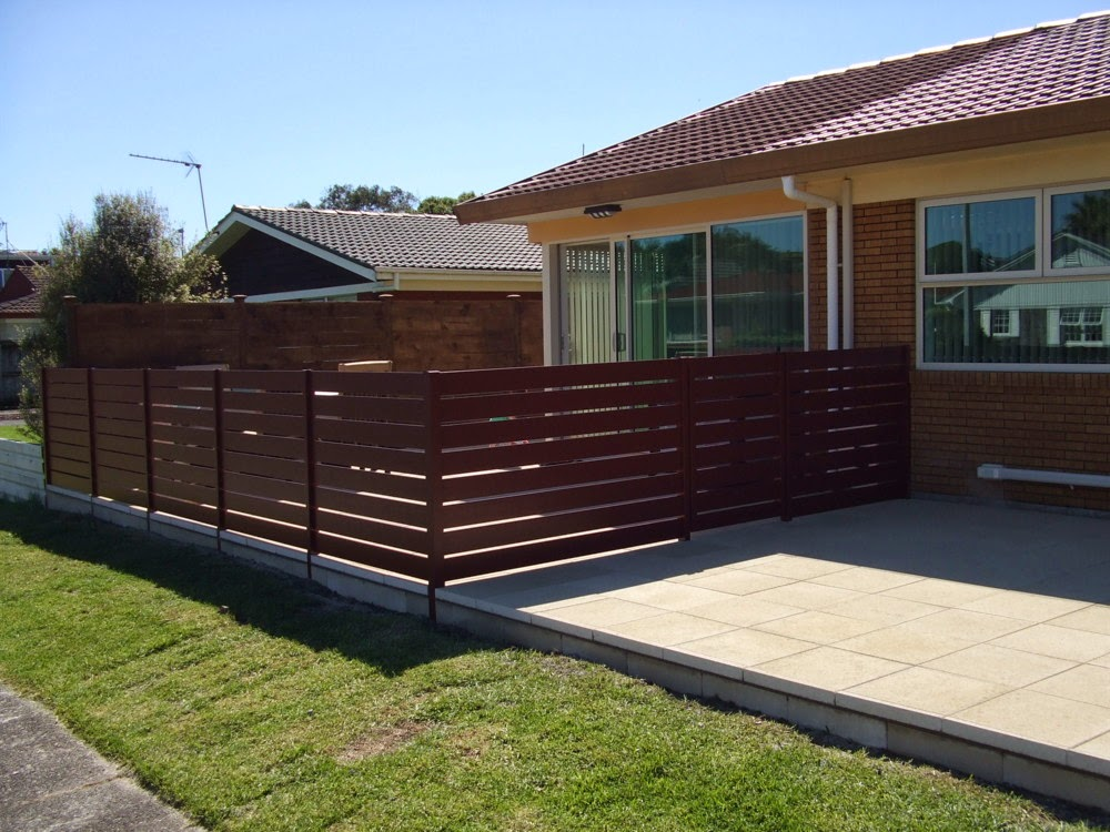 Architectural Series Vertical Slat Fence & Gate