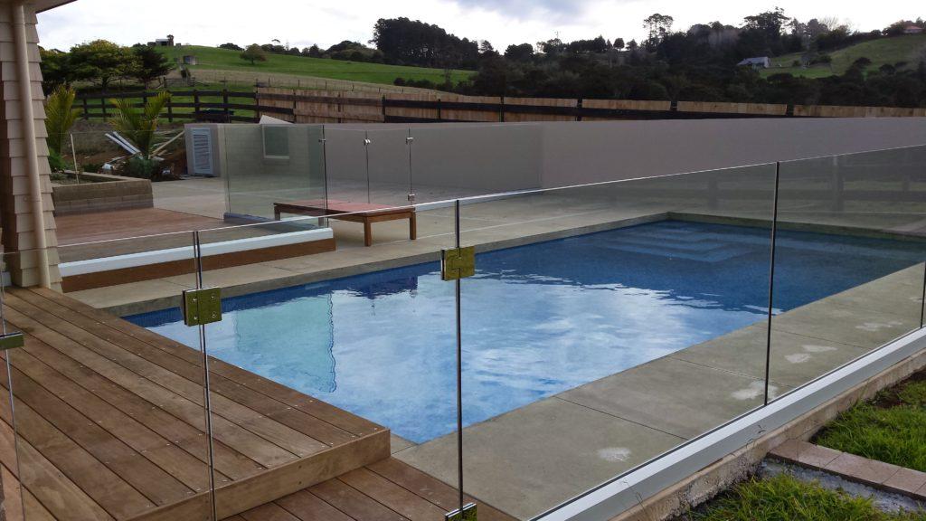 Infinity Frameless Glass Pool Fence