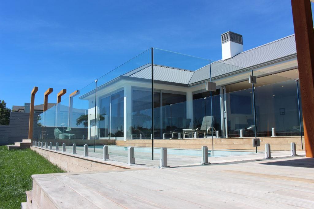 Edgetec Mini Post Frameless Glass Pool Fence