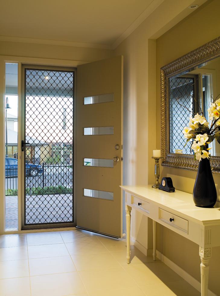Amplimesh Security Grille Door