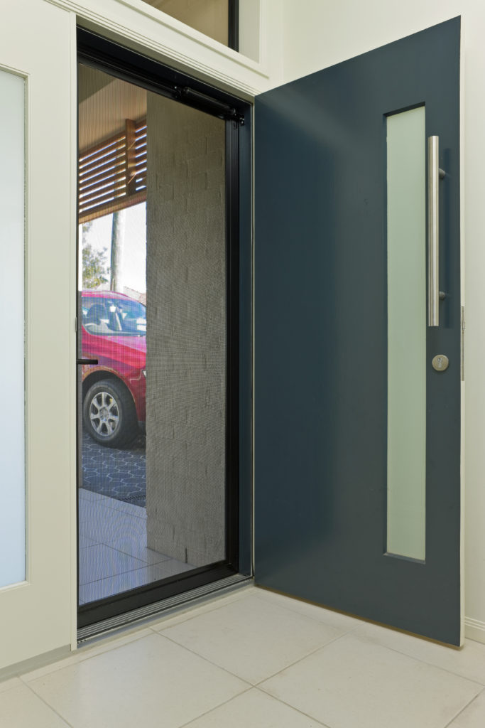 Clearguard Hinged Security Door inside view