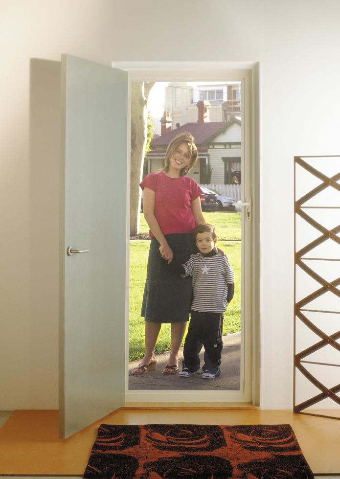 SupaScreen Security Door